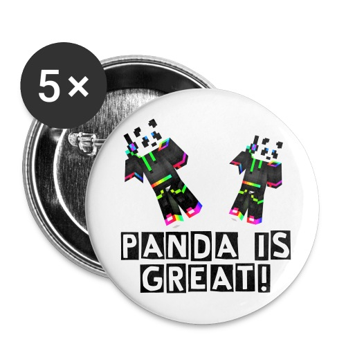 Panda Large Button - Large Buttons