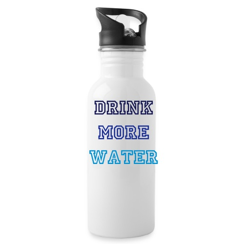 Hydration Nudge! Keep this with you as a constant reminder to drink more water. - Water Bottle