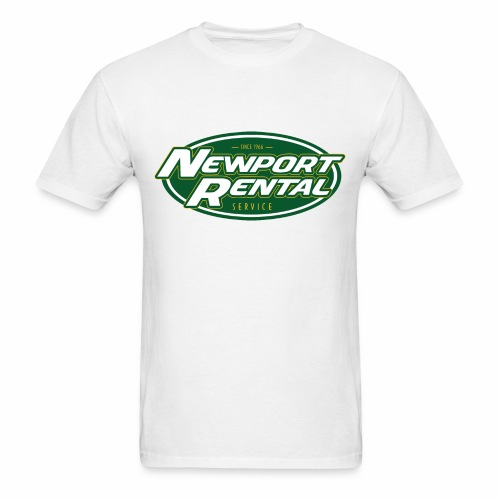 Newport Rental Basic Tee - Classic White - Men's T-Shirt