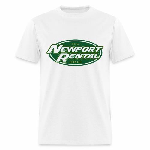 Newport Rental Basic Tee - Classic White - Men's T-Shirt