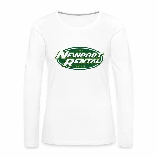 Newport Rental - Women's Long Sleeve Tee - Women's Premium Long Sleeve T-Shirt