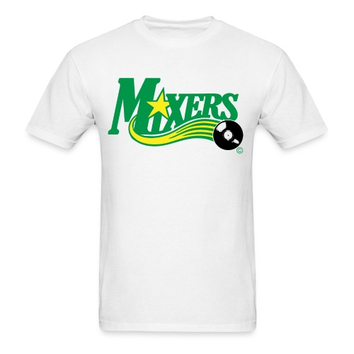 Mixers - DJ green/yellow - Men's T-Shirt