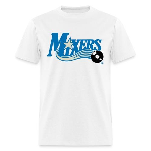 Mixers - DJ blue/grey - Men's T-Shirt
