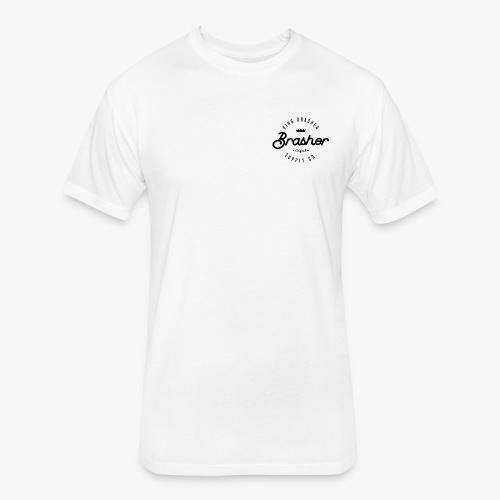 King Brasher Circle 2 - Fitted Cotton/Poly T-Shirt by Next Level