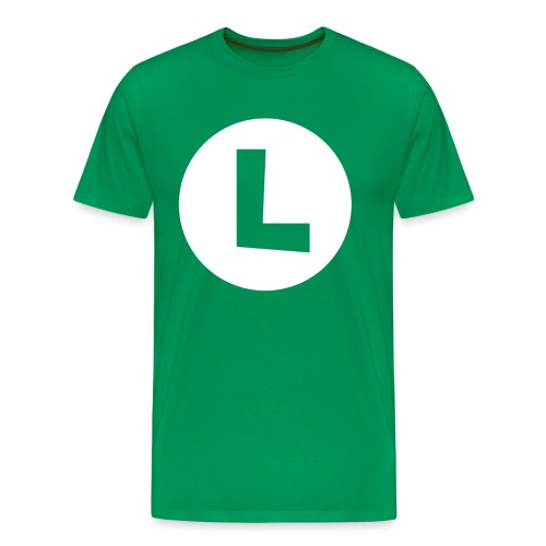 Luigi T-Shirt | Mens - Men's Premium T-Shirt