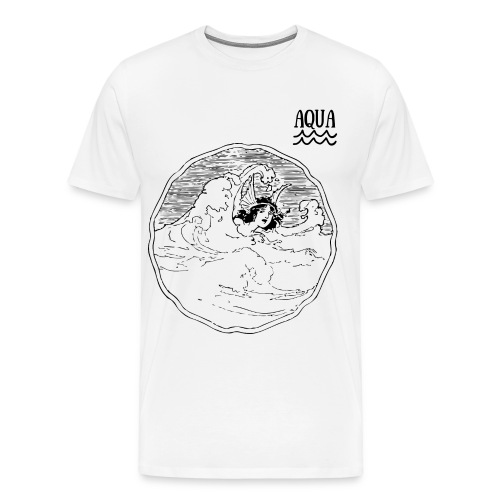 OUCH BY AQUA - Men's Premium T-Shirt