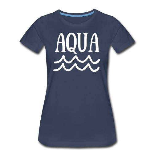 WATERR BY AQUA - Women's Premium T-Shirt