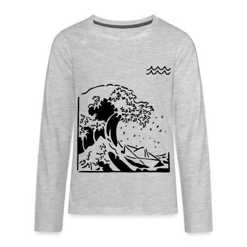 SOULED SAILOR BY AQUA - Kids' Premium Long Sleeve T-Shirt