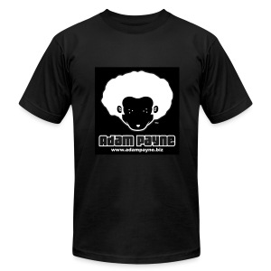 Adam Payne Logo Black T - Men's Fine Jersey T-Shirt
