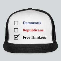 Election Ballot - Free Thinkers - Trucker Cap
