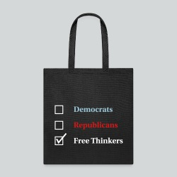 Election Ballot - Free Thinkers - Tote Bag