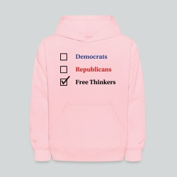 Election Ballot - Free Thinkers - Kids' Hoodie