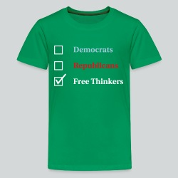 Election Ballot - Free Thinkers - Kids' Premium T-Shirt