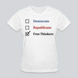 Election Ballot - Free Thinkers - Women's T-Shirt