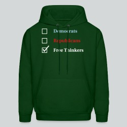 Election Ballot - Free Thinkers - Men's Hoodie