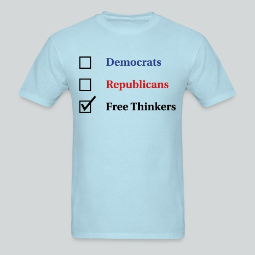 Election Ballot - Free Thinkers - Men's T-Shirt