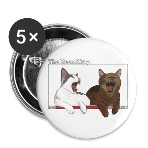 TheMeanKitty - Large Buttons