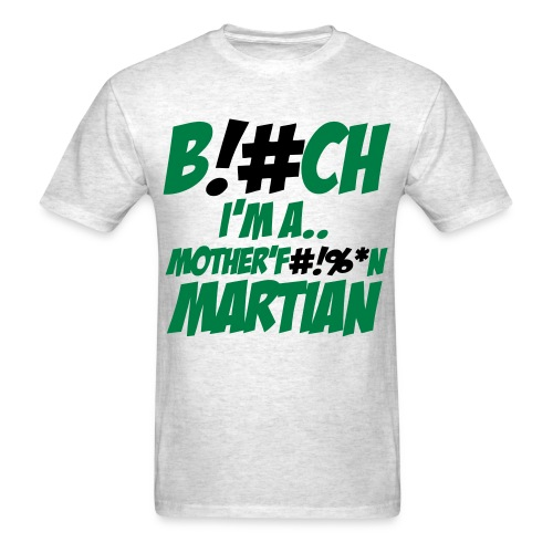 Martian vs. Goblin t-shirt - Men's T-Shirt
