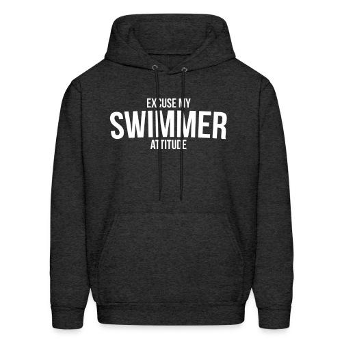 Excuse My Swimmer Attitude - Hoodie - Men's Hoodie