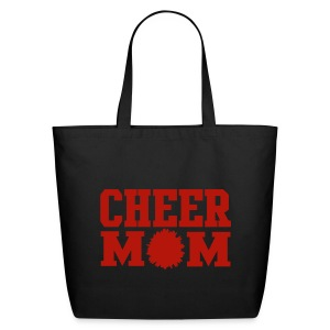 red cheer mom tote - Eco-Friendly Cotton Tote