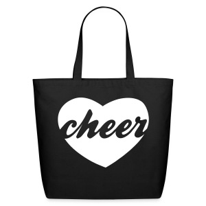 cheer heart tote - Eco-Friendly Cotton Tote