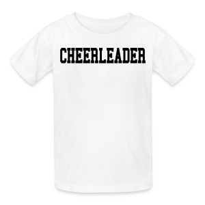 Black cheerleader kids tee - Kids' T-Shirt