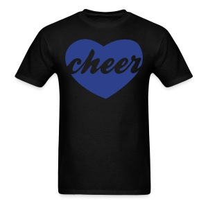 Blue cheer heart tee - Men's T-Shirt