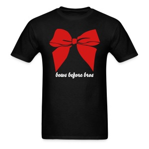 Bows before bros - red - Men's T-Shirt