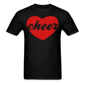 Red cheer heart tee - Men's T-Shirt