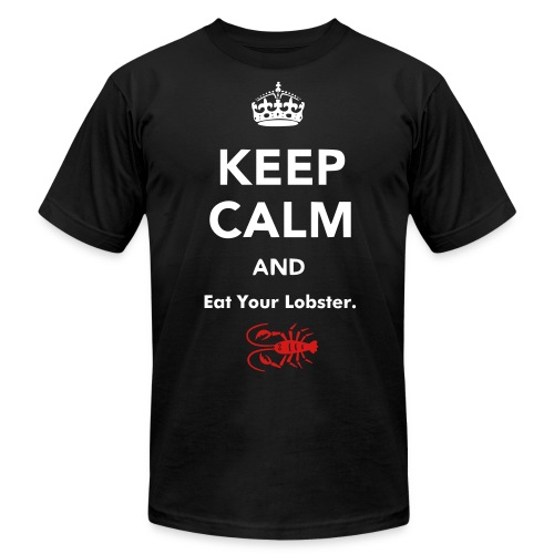 Eat your lobster - Men's Fine Jersey T-Shirt
