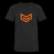 T-Shirts ~ Unisex Tri-Blend T-Shirt ~ Chevron Shirt