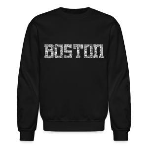 Boston by Streets - Crewneck Sweatshirt