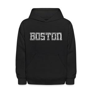 Boston by Streets - Kids' Hoodie