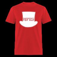 T-Shirts ~ Men's T-Shirt ~ EMERGENCY TOP HAT (American Apparel)