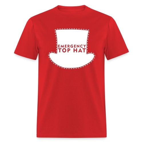 EMERGENCY TOP HAT (American Apparel) - Men's T-Shirt