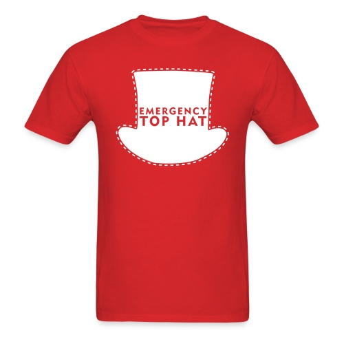 EMERGENCY TOP HAT (American Apparel) - Men's T-Shirt
