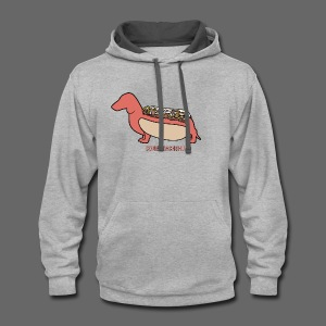 Coney Dachshund - Contrast Hoodie