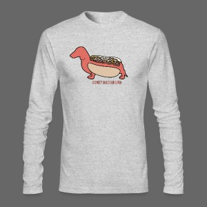 Coney Dachshund - Men's Long Sleeve T-Shirt by Next Level