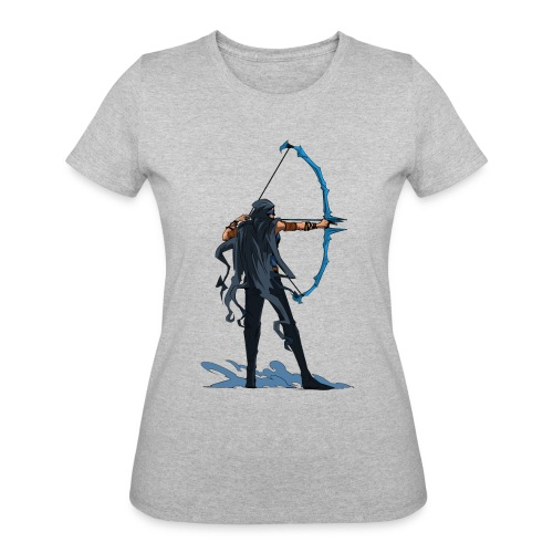 Lady Quicken Aiming - Women's 50/50 T-Shirt