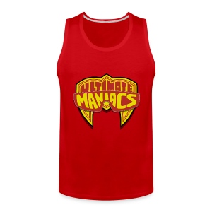 Ultimate Warrior Ultimate Maniacs Red Tank Top - Men's Premium Tank