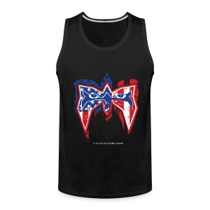 Ultimate Warrior USA Tank Top - Men's Premium Tank
