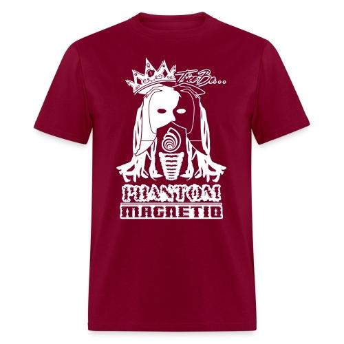 Trice Be Phantom Magnetiq (Men's  50/50 T-shirt w/ white print) - Men's T-Shirt