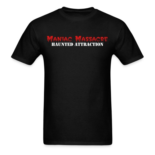 The Maniac Massacre Classic Logo - Men's T-Shirt