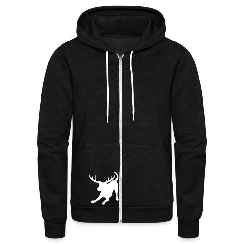 Zip Up a Little - Unisex Fleece Zip Hoodie