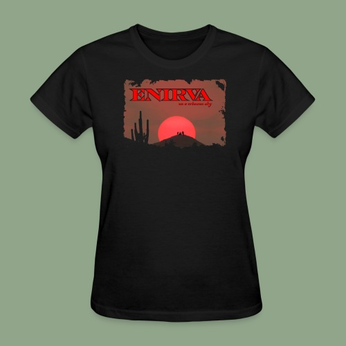 Enirva - Crimson Sky T-Shirt (women's) - Women's T-Shirt