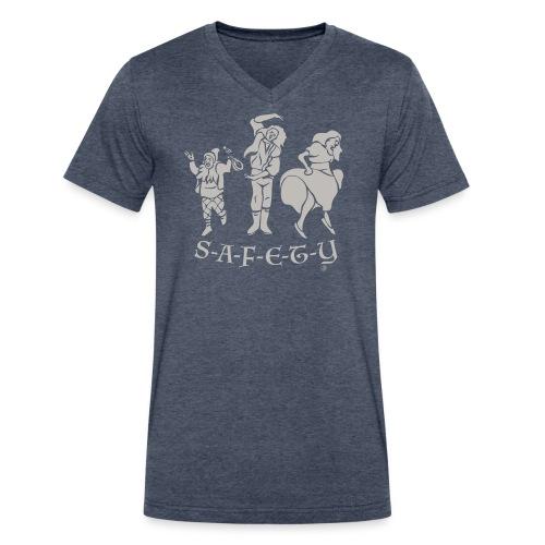 Safety Dance - Men's V-Neck T-Shirt by Canvas