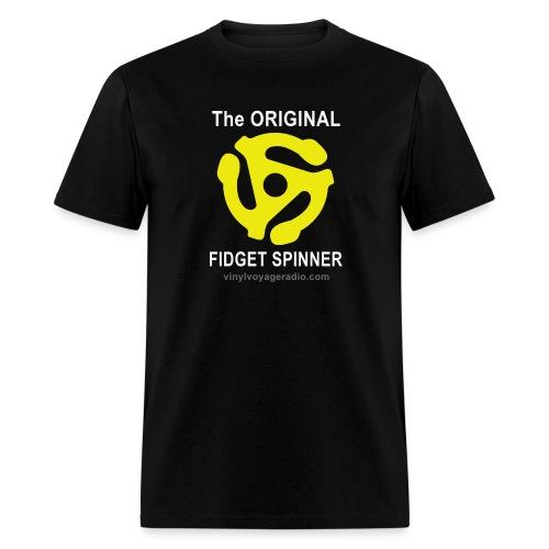 Original Fidget Spinner-White Lettering - Men's T-Shirt