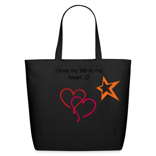 i love me heart in life - Eco-Friendly Cotton Tote