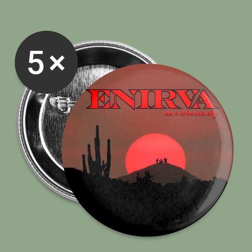 Enirva - Crimson Sky Button - Small Buttons
