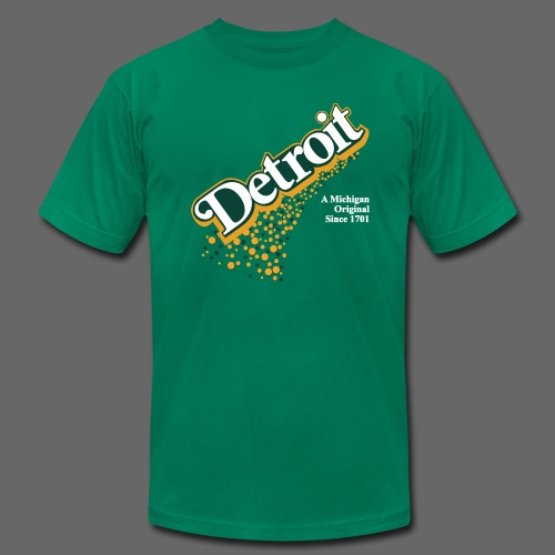 A Michigan Original - Men's T-Shirt by American Apparel